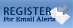 Register For Email Alerts